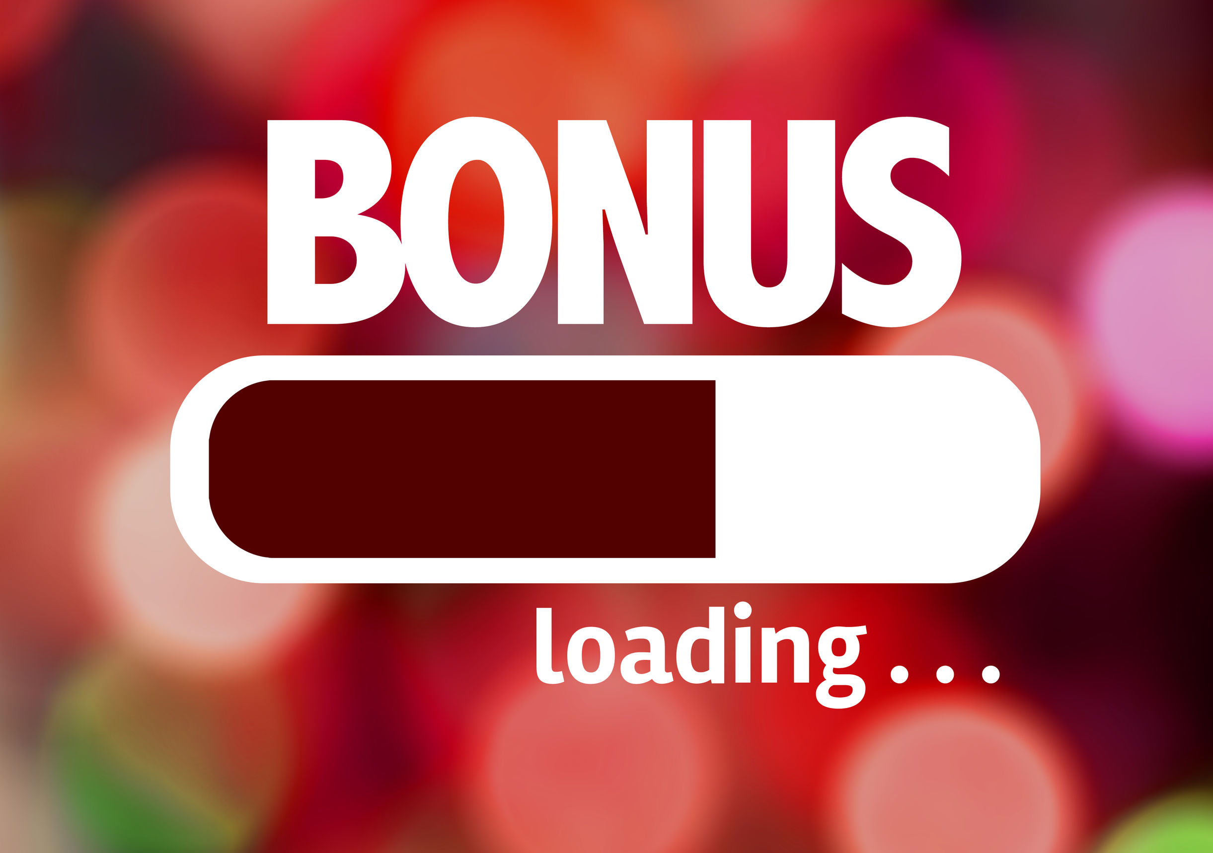 60382868 - progress bar loading with the text bonus